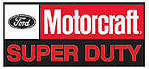 Ford Motorcraft Super Duty steel sign (st)